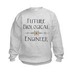 Future Biological Enginee Kids Sweatshirt