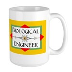 Biological Engineer Line Large Mug