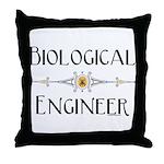 Biological Engineer Line Throw Pillow