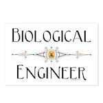 Biological Engineer Line Postcards (Package of 8)