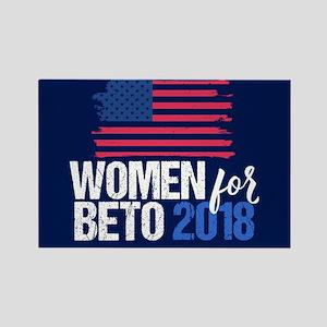 Women for Beto 2018 Rectangle Magnet