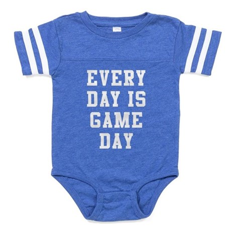 Every Day Is Game Day Baby Football Bodysuit