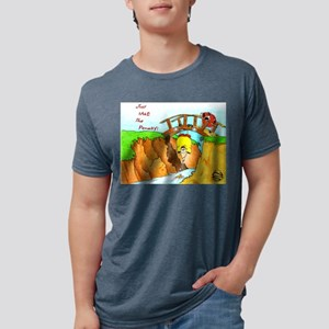 Golf-Hanging From Bridge T-Shirt