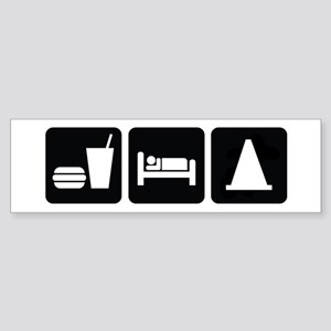 Eat Sleep AutoX Sticker (Bumper)