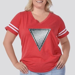 Mork And Mindy Women's Plus Size Football T-Shirt