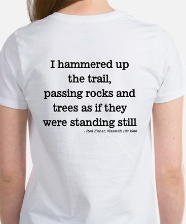 Passing Rocks and Trees Women's T-Shirt