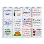 Genealogy For You Wall Calendar