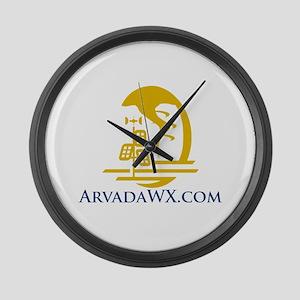 ArvadaWx.com Large Wall Clock