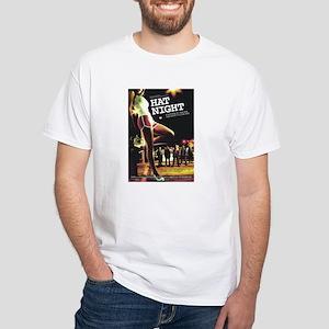 Hat Night White T-Shirt