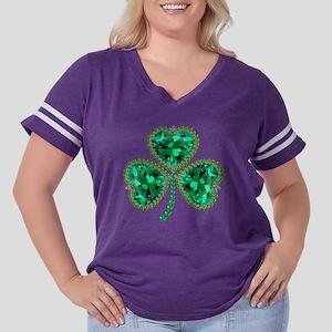 Sham Rocks!!! Women's Plus Size Football T-Shirt