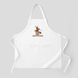Reindeer Gamer. BBQ Apron
