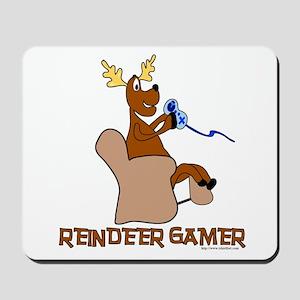 Reindeer Gamer. Mousepad
