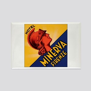 Hotel Minerva Florence Italy Rectangle Magnet