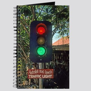World's Most Remote Traffic Light Journal