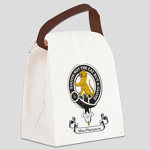 Badge-MacPherson Canvas Lunch Bag