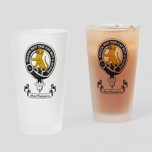 Badge-MacPherson Drinking Glass