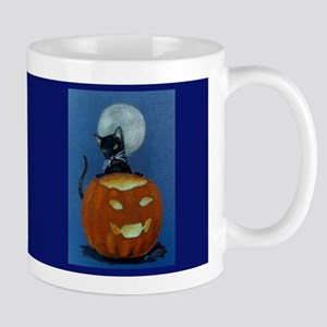 Mug  (small)   Jack'o Cat