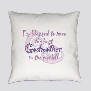 Blessed Godmother Pk Everyday Pillow