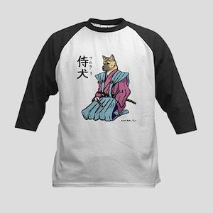 Loyal Dog Samurai Kids Baseball Jersey