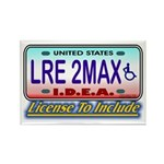 LRE to the Max Rectangle Magnet (100 pack)