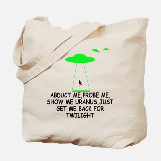 Twilight funny slogan Tote Bag