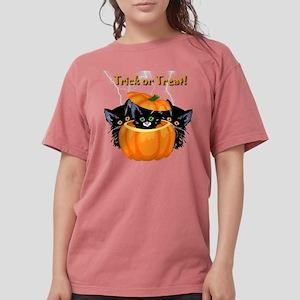 Halloween Trick or Treat Black Cats T-Shirt