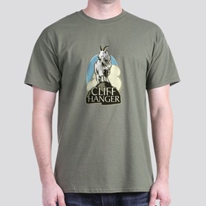 Mountain Goat Cliffhanger Dark T-Shirt