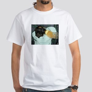 Bottle Time White T-Shirt