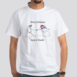 Keep in Touche White T-Shirt