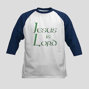 Jesus is Lord Kids Baseball Jersey