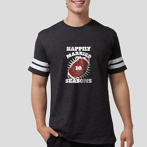 10th Anniversary Football Ten Seasons Toge T-Shirt