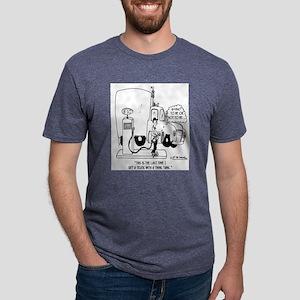 Think Gas Tank White T-Shirt