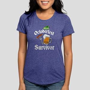 Oktoberfest Prost Sausage Beer Drinking T-Shirt