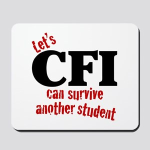 CFI can survive Mousepad