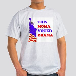 Voted Obama Light T-Shirt