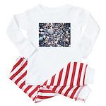 Stones With Style Baby Blue Stripe Pajamas