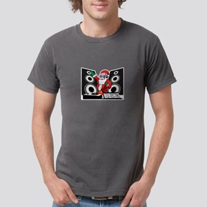 Funny Christmas DJ Deejay Santa Claus T-Shirt