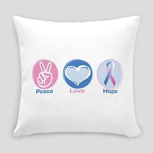 Peace Love Blpk Hope Everyday Pillow