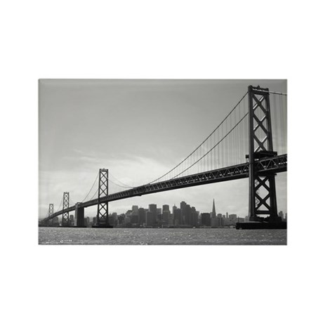 SF Skylines Photography Rectangle Magnet