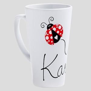Ladybug Karen 17 Oz Latte Mug