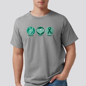 Peace Love Gr Hope Mens Comfort Colors® Shirt