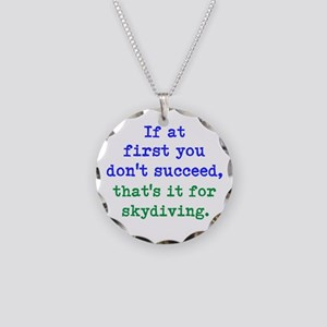 One Time Skydiver Necklace
