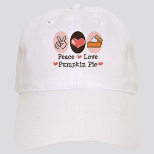 Peace Love Pumpkin Pie Cap