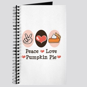 Peace Love Pumpkin Pie Journal