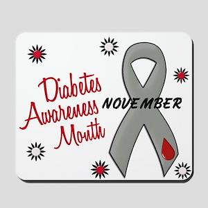 Diabetes Awareness Month 1.1 Mousepad