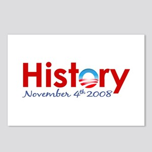 Obama Makes History Postcards (Package of 8)
