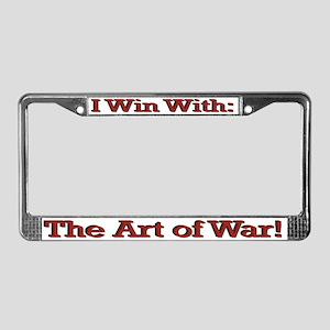 Art of War License Plate Frame