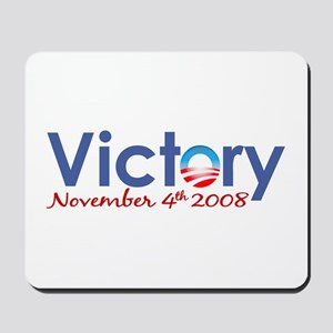 Obama Victory 2008 Mousepad