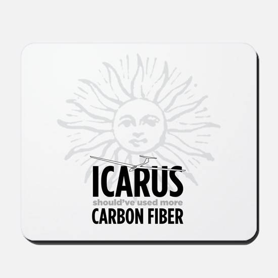 Icarus-Carbon Mousepad