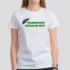 Washington Makes Me Wet Tees Women's T-Shirt